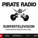 SURFERTELEVISION RADIO      Listen Now To The Pirate Show