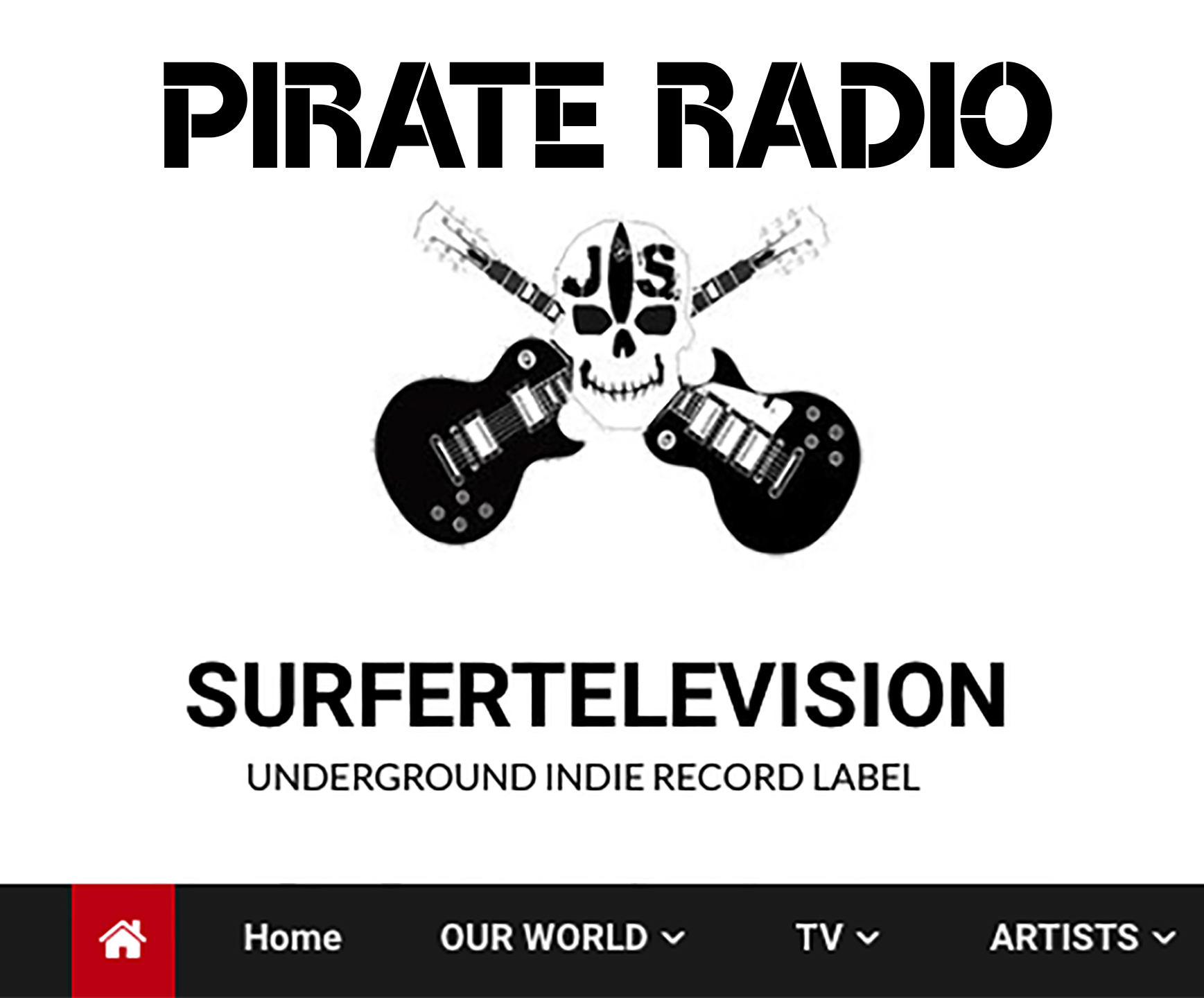 SURFERTELEVISION PIRATE RADIO SPOTIFY PLAYLIST
