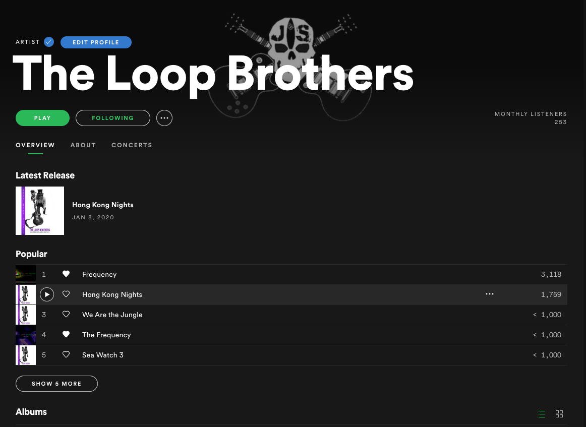 The Loop Brothers ON SPOTIFY